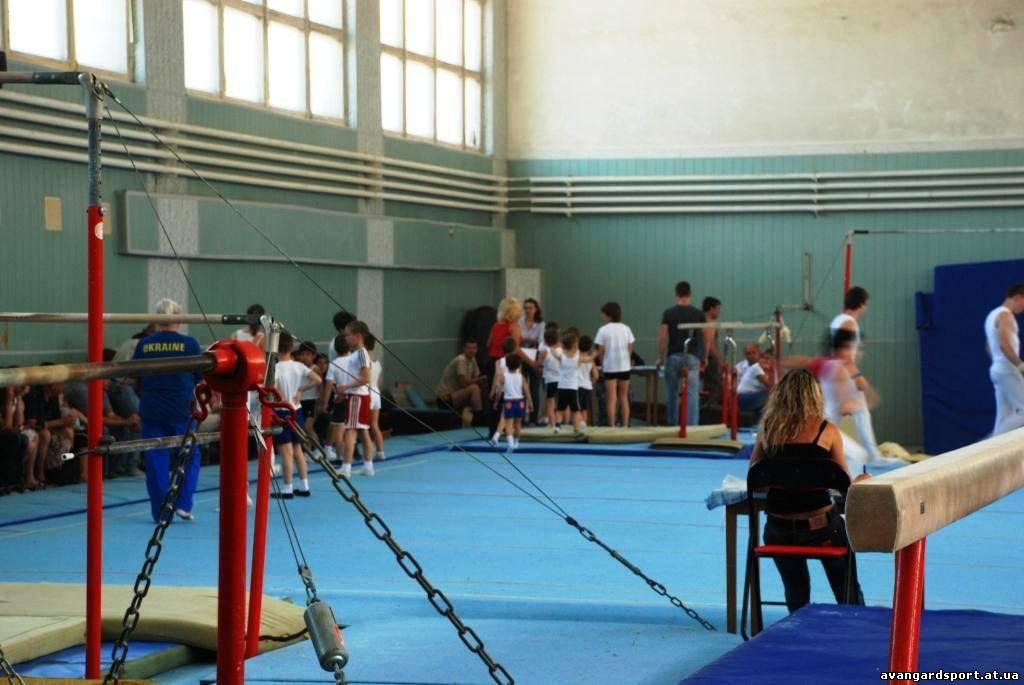 Детская спортивная школа гимнастики.